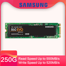 SAMSUNG SSD 860 EVO M.2 2280 SATA disco duro 500 GB 250 GBde estado sólido interno HDD m2 Laptop PC MLC PCIe M.2 disco dur(China)