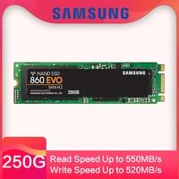 SAMSUNG SSD 860 EVO M.2 2280 SATA disco duro 500 GB 250 GBde estado sólido interno HDD m2 Laptop PC MLC PCIe M.2 disco dur