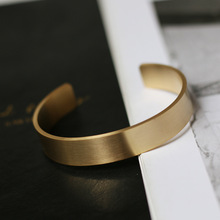 Ourania Cuff Mantra Bracelet Stainless Steel Couple Jewelry Gold Gift