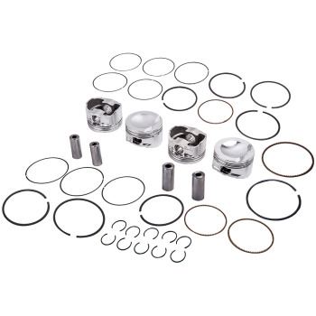 Engine Pistons & Rings Kit for Audi 8P A3 EA888 Engine 82.5mm Φ23mm 9.5:1 1