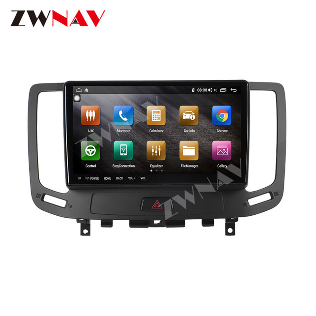 IPS DSP Android 9 IPS Screen Car Multimedia For Infiniti G ser Co One Outback Radio Tape Recorder Head unit Car Multimedia Playe 3