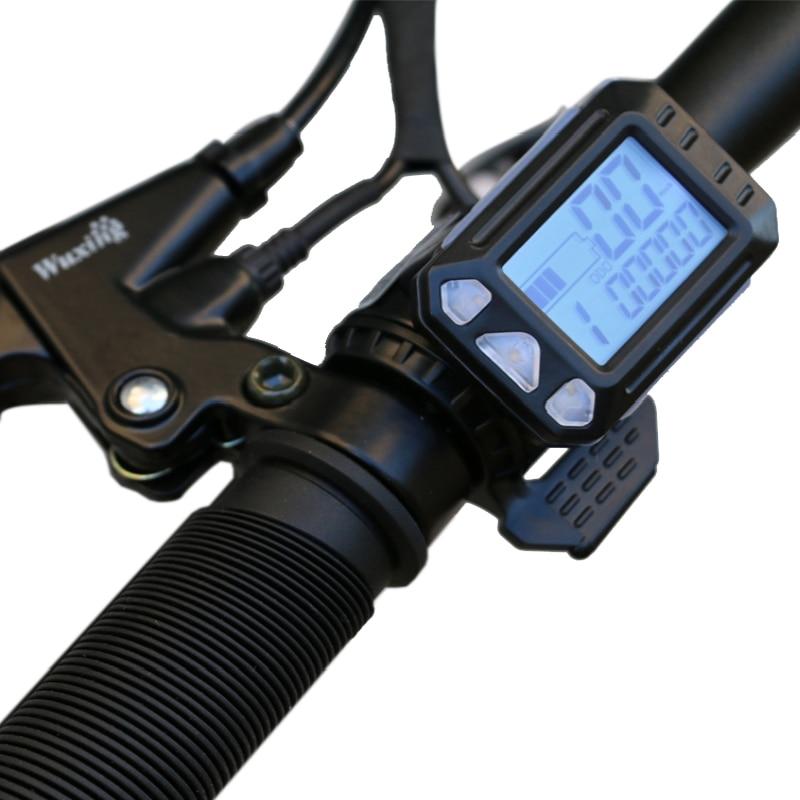 16 inch intelligent disc brake foldable electric bike 6 speed brushless motor folding e-bike 5
