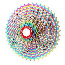 Smllow mtb красочные кассета 11 Скорость 13 15 17 19 21 24 28