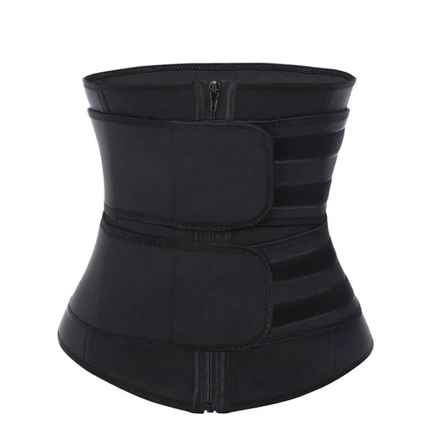 CXZD Waist Trainer Corset Sauna Sweat Belt for Women Weight Loss Compression Trimmer Workout Fitness Shapewear 2