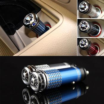 2020 NEW Mini Auto Car Anion Generator Air Cleaner Purifier Filter Oxygen Bar Ozone Ionizer Cleaner image