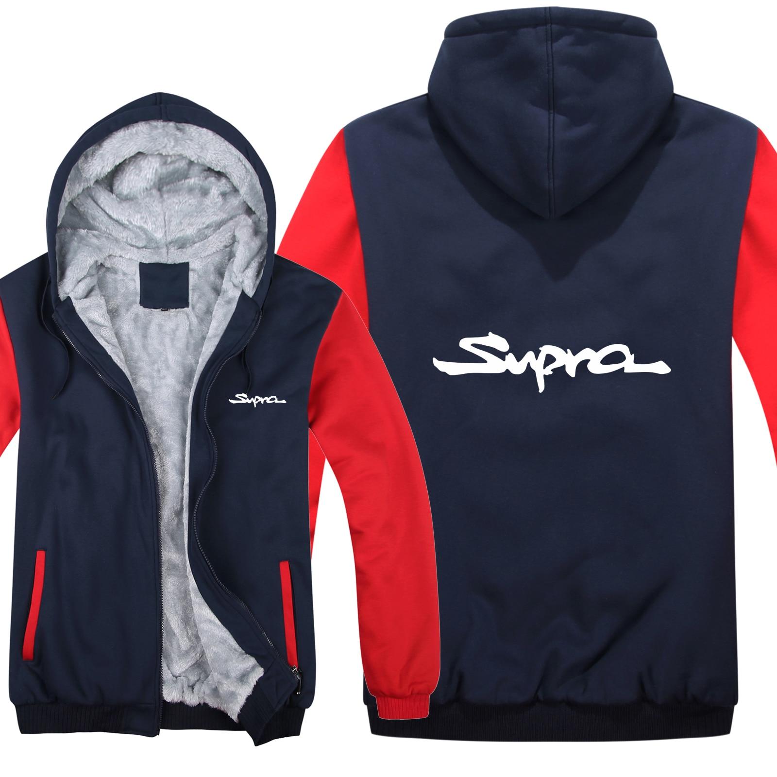 Toyota Supra Hoodies Thicken Jacket Wool Liner Fleece Pullover Man Coat Toyota Supra Sweatshirts Coat HS-056