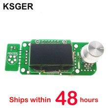 KSGER V2.01 STM32 OLED T12 di Saldatura Elettrica Ferro Stazione di Saldatura Temperatura Controller T12 K T12 JL02 di Saldatura Punta di Ferro