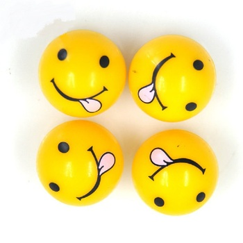 4Pcs/lot Universal Moto Bike Car Tire Valve Cap Wheel Dust Covers Yellow Smile Face Ball Car Styling For Audi Ford BMW Chevrolet image