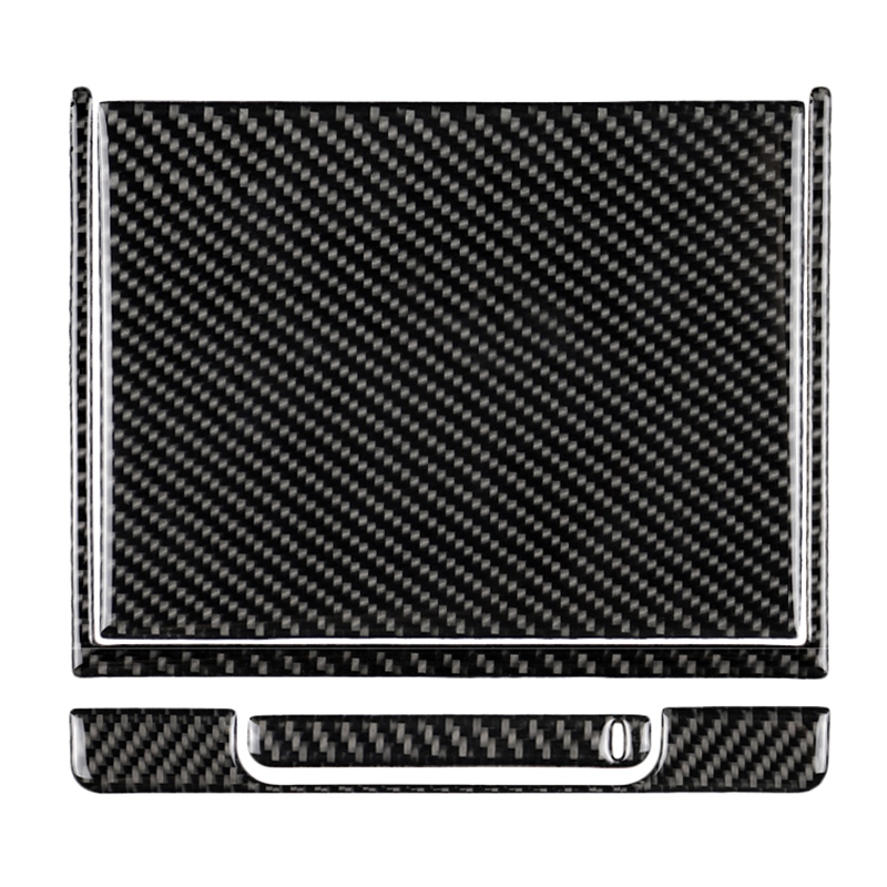 For Toyota Camry 2018 2019 Carbon Fiber Center Console Storage Box Cover Trim