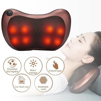 NECK Vehicle-mounted Household Cervical Massager Whole Body Multifunctional Low Voltage Heating Massage Pillow US PLUG!!! massage chair cushion cervical massage device neck massage pad household multifunctional massage pillow full body cushion