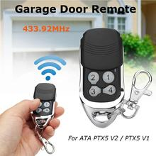 все цены на 433.92MHz 4 Buttons Garage Door Replacement Remote Control for ATA PTX5 V2/V1 Garage Door Remote Control 4 Buttons Portable Co онлайн