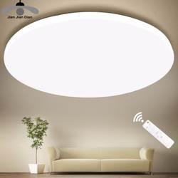 Ультра тонкий светодиодный потолочный светильник современная лампа для гостиной, спальни, кухни, осветительный прибор для поверхностного