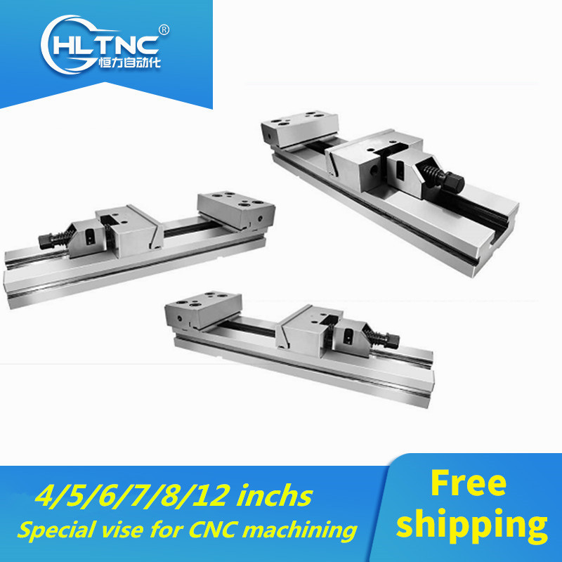 2019 Promotion 4/5/6/7/8 Inchs Special Vise For GT853 Precision Combination Flat Jaw Milling Machine For CNC Machining Center
