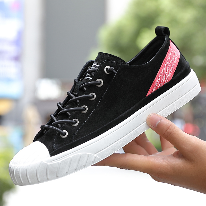 Hot Sale New Arrival Men Designer Sneakers Hard-Wearing Flats Shoes For Men Brand Lace Up Man Footwear Top Quality Leather Men Shoes