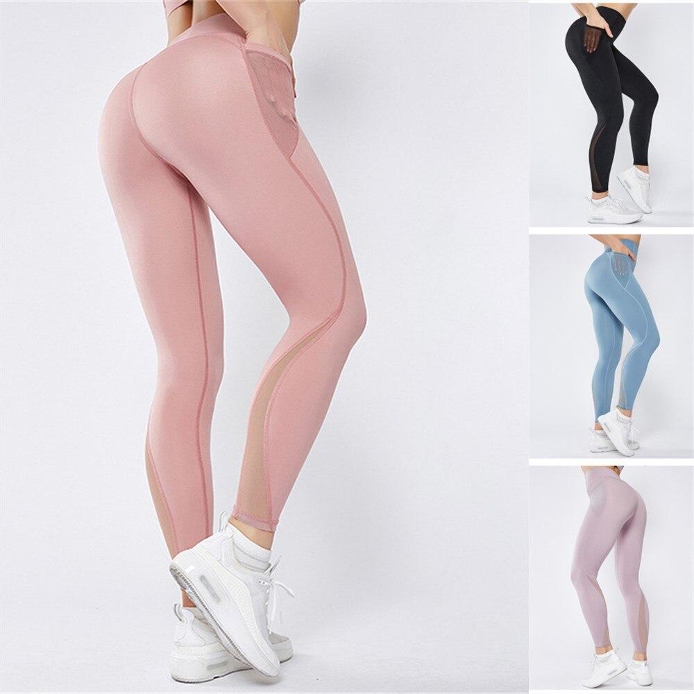 Seamless Leggings High Waist Push Up Leggins Sport Women Fitness Running Yoga Pants Energy Seamless Leggings Gym Poket Leggins