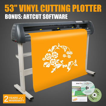 a4 size mini vinyl cutter cutting plotter for cutting vinyl non dried glue labels name cards stamps with usb interface Vinyl Cutting Plotter 53 Inch 135CM Graph Plotter Cutter Compatible With Artcut Software