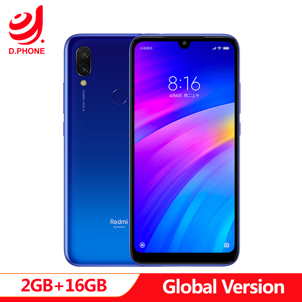 Купить 4000 mAh глобальная версия Xiaomi Redmi 7 2 GB 16 GB Snapdragon 632 12MP + 2MP 6,26