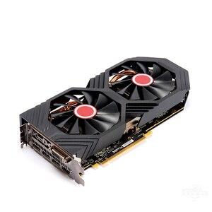 Image 3 - XFX RX 580 8GB 그래픽 카드 AMD RX500 시리즈 VGA 카드 용 256Bit GDDR5 비디오 카드 RX580 8GB HDMI DVI RX580 8GB 2304 중고