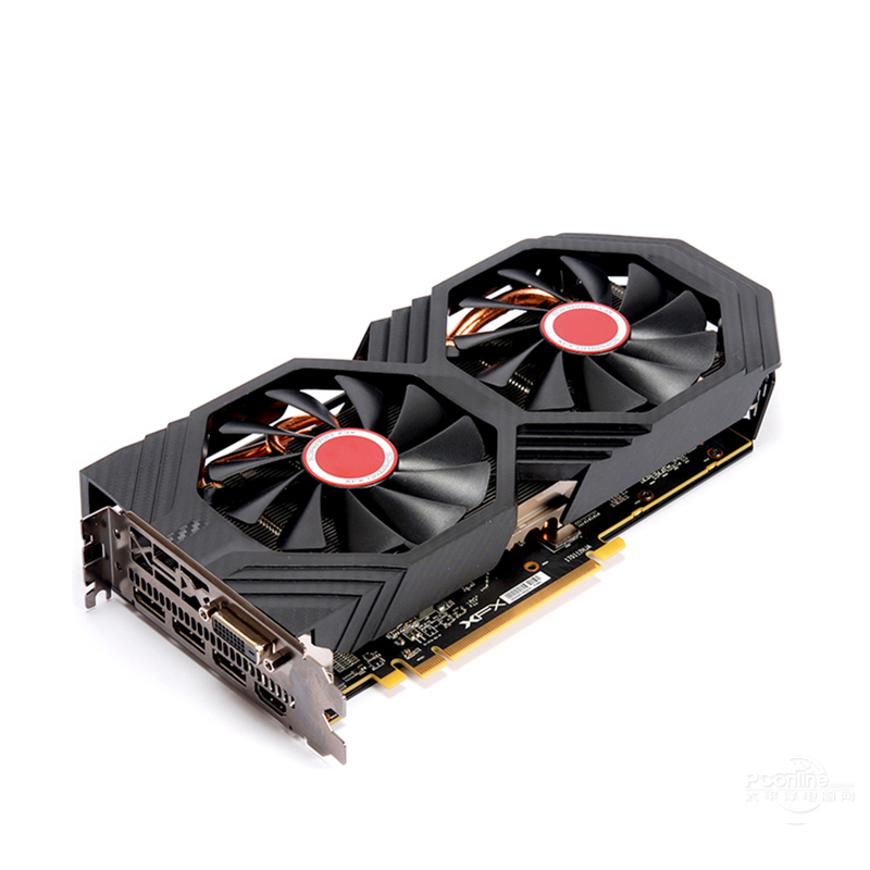 Image 3 - XFX RX 580 8GB Graphics Cards 256Bit GDDR5 Video Card For AMD RX500 series VGA Cards RX580 8GB HDMI DVI RX580 8GB 2304 UsedGraphics Cards   -