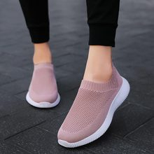 Large Size Slip-on Socks Sneakers Woman Sports Shoes Running Sneakers Women Basket Sport Shoes Tennis for Woman Pink Race A588 комбинезон pink woman pink woman pi026ewgotw3