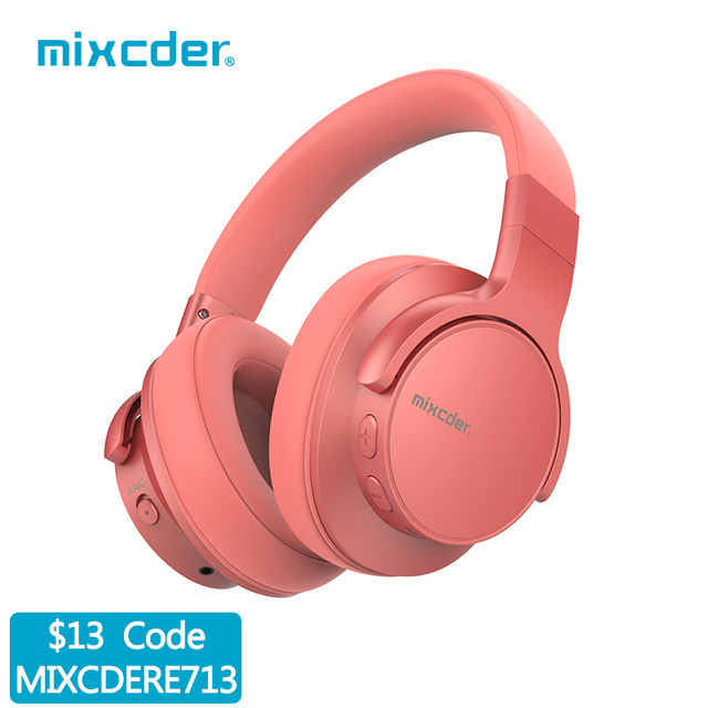 Mixcder E7 Wireless Headphones Active Noise Cancelling Bluetooth Headphone V5.0 Fast Charging ANC Headset for Phone 1