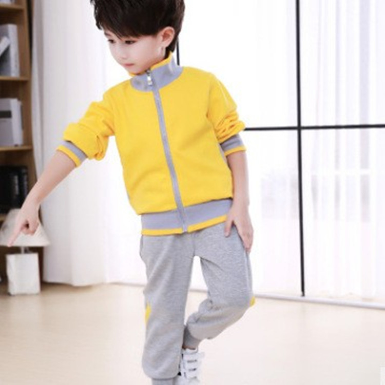 Kindergarten Suit Spring Clothing Young STUDENT'S School Uniform Autumn And Winter Set Children Business Attire Games Open Tuan