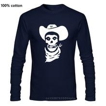 Distro qualidade-hank 3 horror desfits danzig cowboy camiseta tamanho S-2XL
