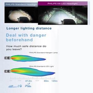 Image 2 - フィリップス LED 9005 9006 HB3 HB4 X treme Ultinon LED 車のヘッドライト 6000 18k ホワイトオートオリジナルランプ + 200% 明るい 11005XUX2 、ペア