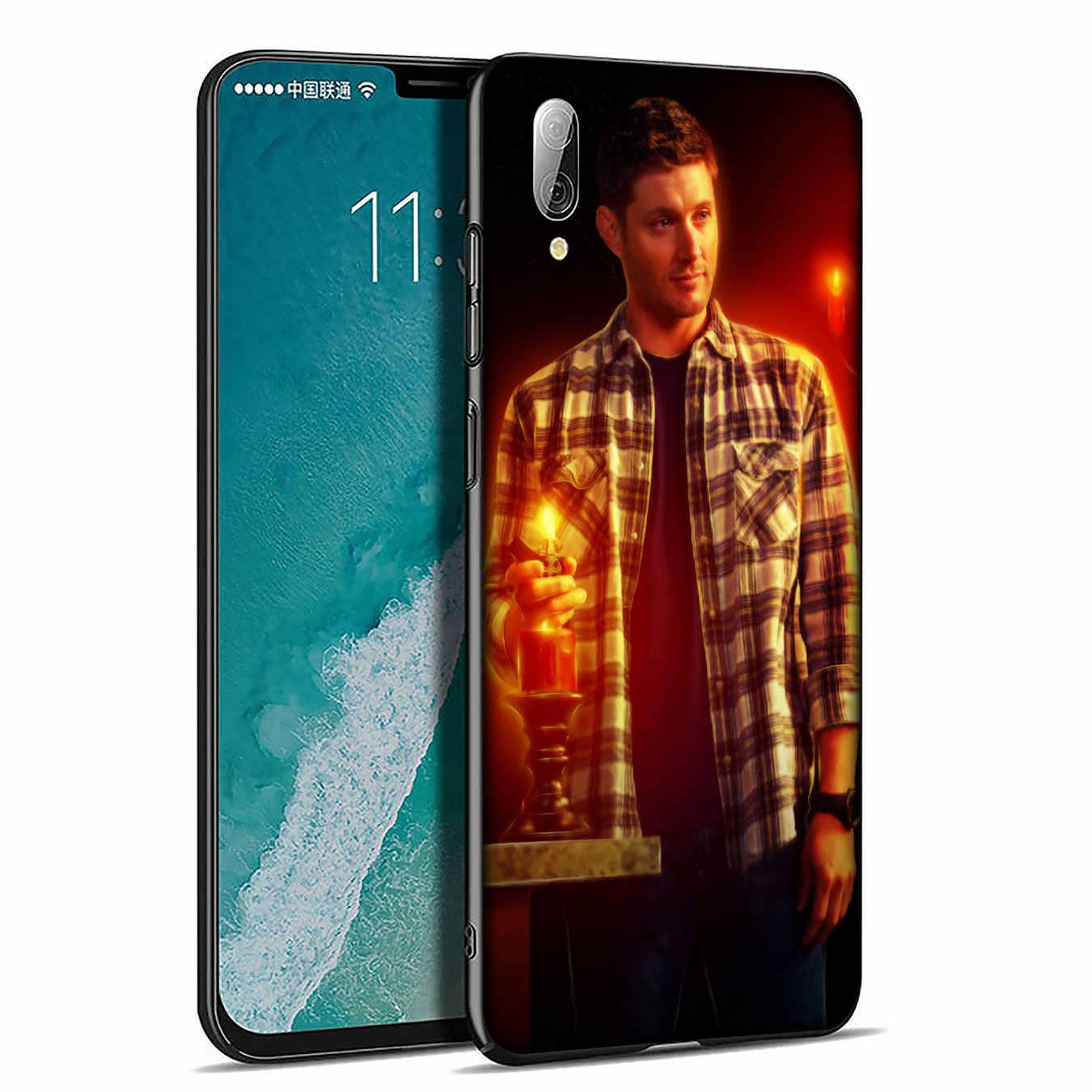 Supernatural Jared Padalecki Molle Del Silicone Cassa Del Telefono per Xiaomi Redmi K20 S2 ANDARE 6A 5A 7A Più 4A 4X Nota 8 7 6 5 Pro Copertura