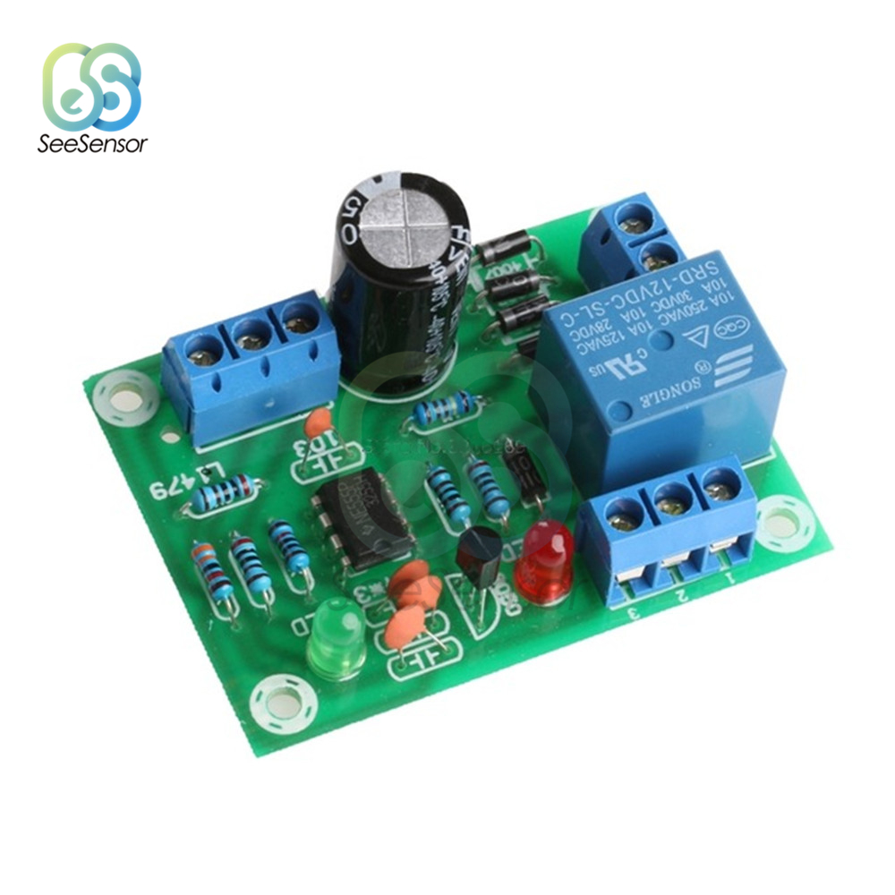 Liquid Level Controller Sensor Module Water Level Detection Sensor DIY Kit DC 12V 10A