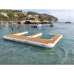 5x3x0.2m Inflatable Motor Boat Jet Ski Floating Pontoon Dock for Sale