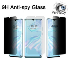 Protective Glass Film For Huawei Mate 20 10 Lite 20 X 10 Pro Privacy Protection Glass For Huawei P Smart Plus Z 2019(China)