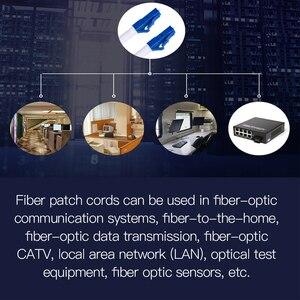 Image 3 - Cable de parche de fibra óptica monomodo LC, Cable de parche de fibra óptica LC UPC SM 2,0 o 3,0mm 9/125um FTTH, puente de fibra óptica 3m 10m 30m