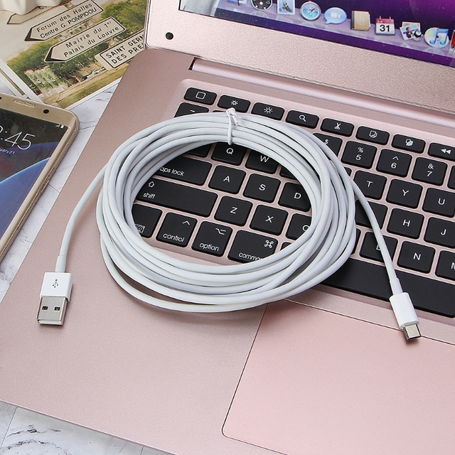 5m Micro USB Data Sync 3A Fast Charging Charger Cable for android Smart Phone 2