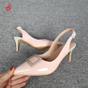 Original Intention New Elegant Apricot Pumps Woman Concise Pointed Toe Stiletto High Heels Grace Lady Shoes Party Club Dress