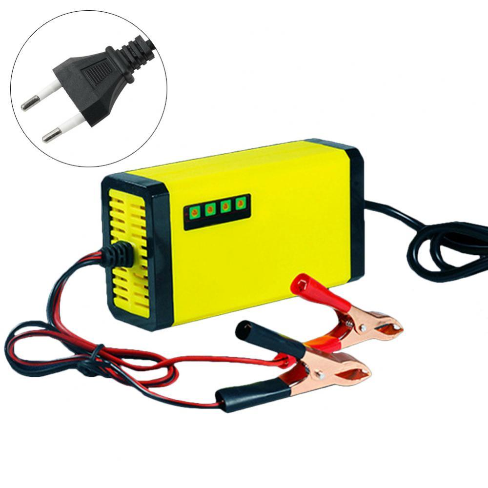 Portable 12V 2A Power Supply LED Display Auto Car Motor Battery Charger Adapter electric motorcycle