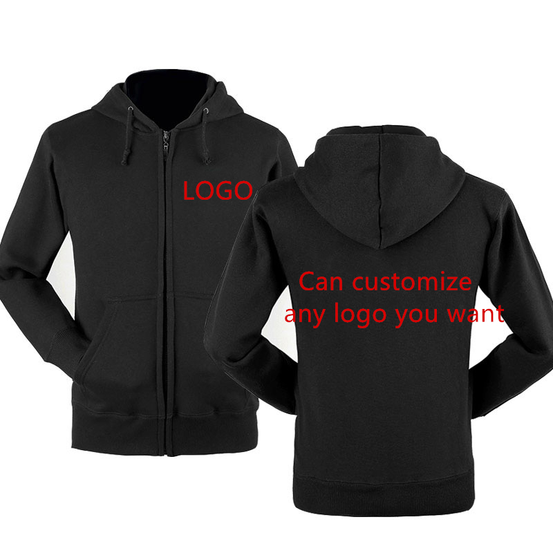 Hoodies Men Jacket Custom Logo Car Anime Print Mens Streetwear Fleece Zipper Funny Print Sweatshirts Hip Hop Harajuku Tracksuit
