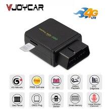 Traqueur GPS de voiture, outil de Diagnostic OBD, OBDii, localisateur de voiture, 2G/3G/4G, moniteur vocal, Vibration, alarme, suivi Geo en temps réel!
