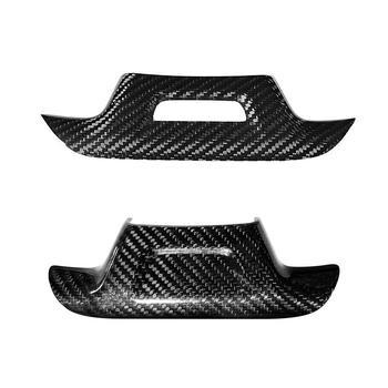 Dla Chevrolet Camaro 2016 2017 2018 2019 2020 naklejka dekoracyjna na kierownicę z włókna węglowego pokrywa rama wykończeniowa akcesoria tanie i dobre opinie Wewnętrzny CN (pochodzenie) Inne Inne naklejki 3d 0 0inch 16cm Zmieniające kolor Włókno węglowe Bez opakowania Car Sticer