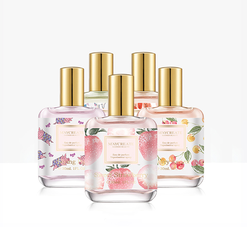 30ml Multi-kinds Women Atomizer Parfume Beautiful Package Female Perfum Fashion Lady Flower Fruit Fragrance Perfumes Long Lastin