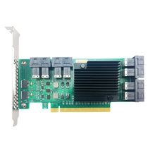 To Riser Not-Support SFF8639 Nvme SSD with Cables LSI 8643--2 ANU28PE16 ANU28PE16