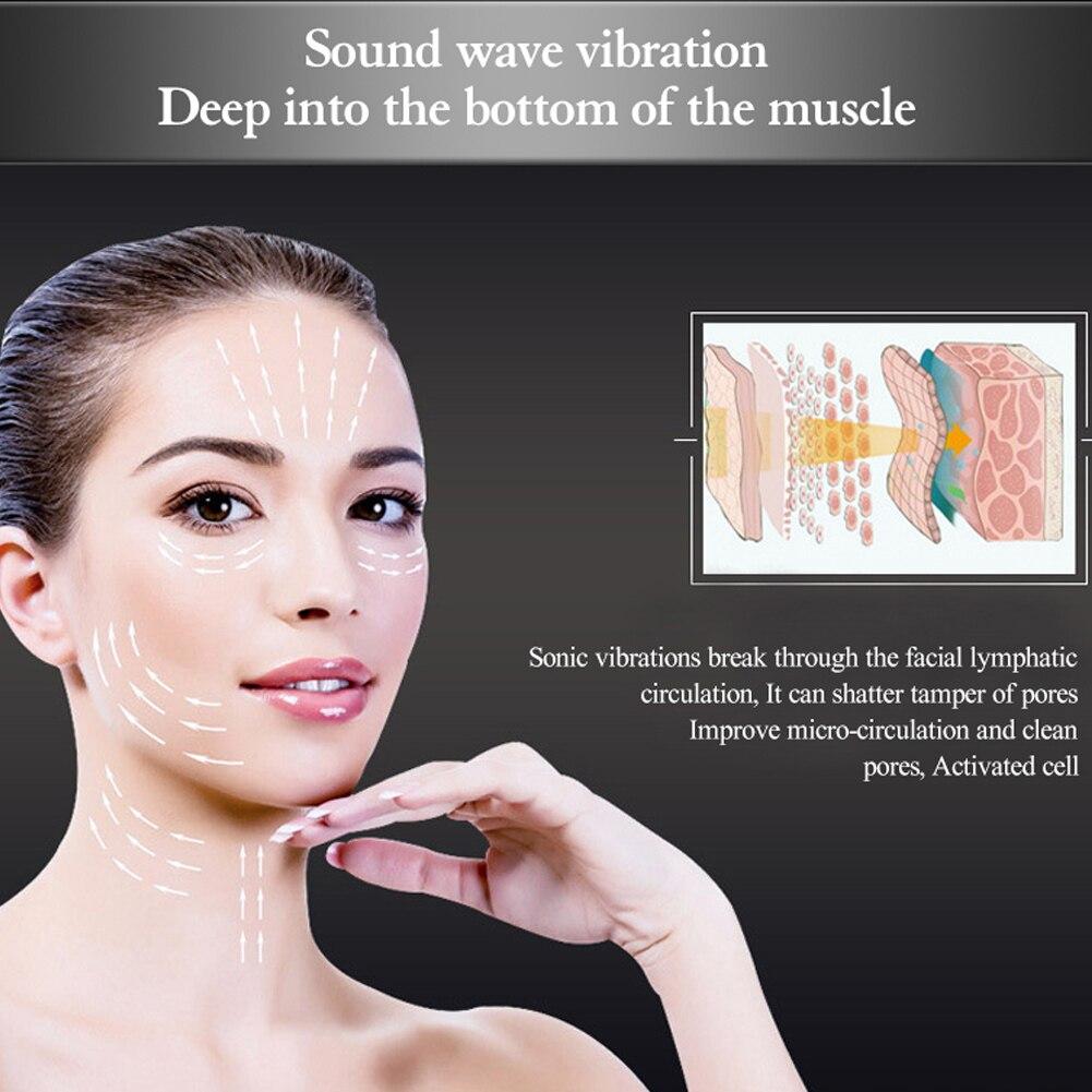 Efeito de Vibração Anti-Envelhecimento Levantamento Máquina da Beleza