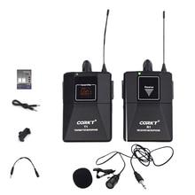 DSLR камера мини-беспроводной микрофон системы профессиональные телефоны нагрудные Микрофон приемник Vlog видео запись Youtube передатчик