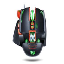V9 Mechanical Gaming Wired Mouse Touch Wheel Photoelectric Ergonomics Mechanical Frame Design Non-Slip(China)