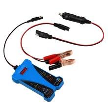 Зарядная система Анализатор автомобильной электроники пластиковая батарея нагрузки Volmeter для мотоцикла Atv