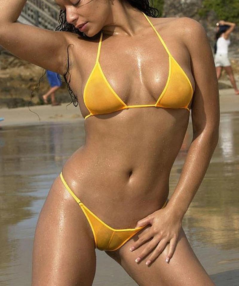 Brazilian Micro Bikini See Through