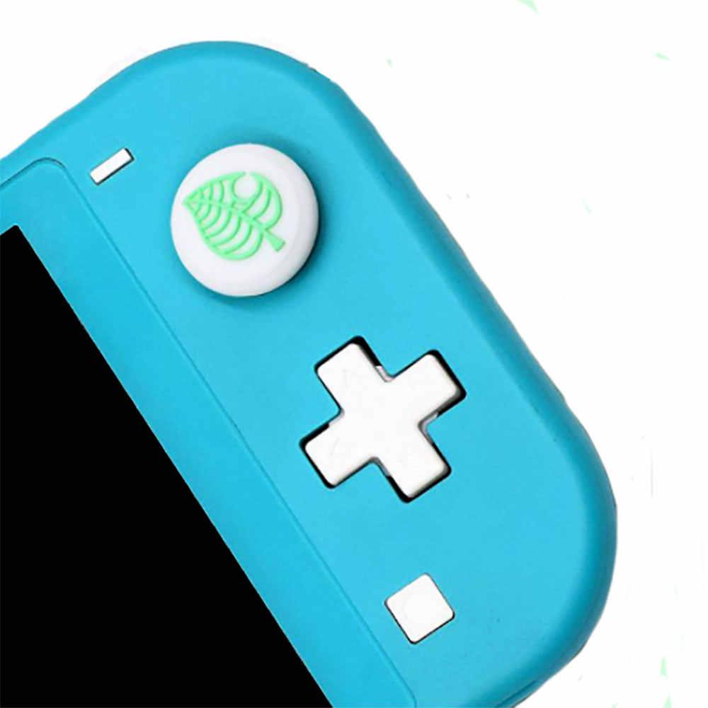 JCD hayvan geçişi ağacı yaprak Thumb çubuk kavrama Cap Joystick kapak nintendo anahtarı Joy-Con denetleyici Gamepad Thumbstick kılıf