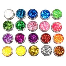 DIY Crystal Epoxy Jewelry Glitter Mixed Coarse Powder Nail Art Making Filler