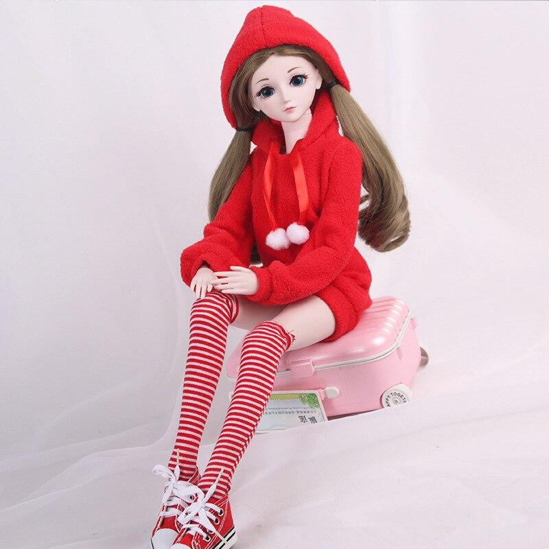 ¡Novedad de 1/3! Ropa para muñeca SD, conjunto de vestido a la moda para muñeca BJD de 60cm, falda, accesorios de muñeca, juguetes para niñas, regalos|Muñecas|   - AliExpress