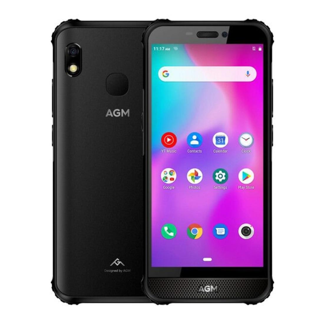 Смартфон AGM A10 защищенный, 4 + 64 ГБ, Android 9, 5,7 дюйма, NFC, 13 МП, 4400 мАч